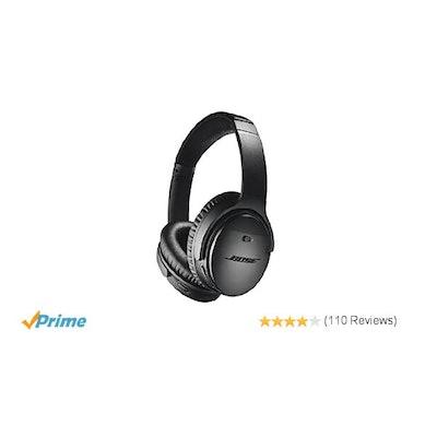 Bose QuietComfort 35 (Series II) Wireless Headphones, Noise Cancelli