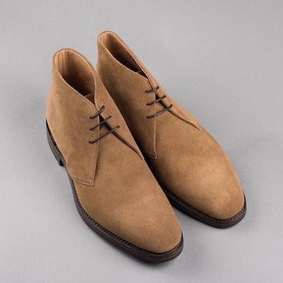 Loake 1880 Pimlico Tan Suede – Loake Shoemakers Nordic