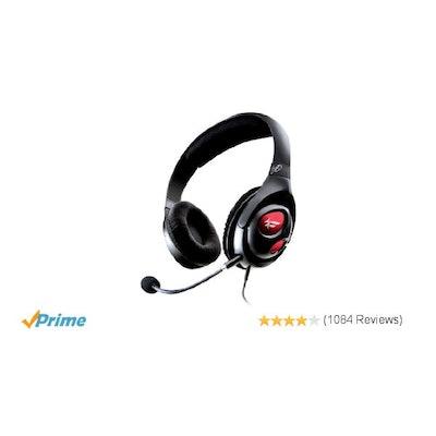 Amazon.com: Creative  Fatal1ty Gaming Headset: Electronics