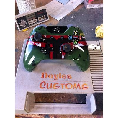 Boba Fett Custom xbox one controller by doylescustoms on Etsy