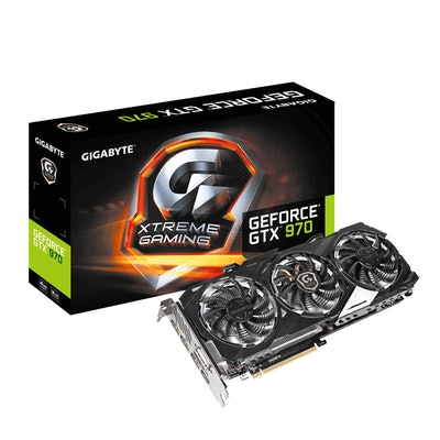 GIGABYTE  - Graphics Card - NVIDIA - PCI Express Solution - GeForce 900 Serie