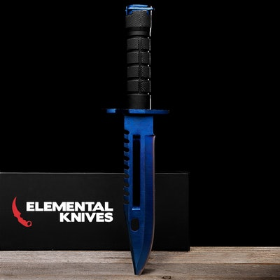 Real Blue Steel M9 Bayonet - Elemental Knives