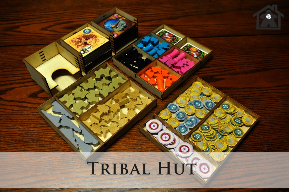 The Tribal Tent ( compatible with FIVE TRIBES™ ) - Meeple Realty