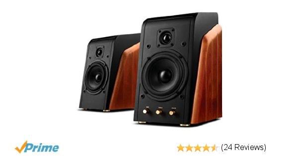 Amazon.com: Swan Speakers - M200MKIII - Powered 2.0 Bookshelf Speakers - HiFi sp
