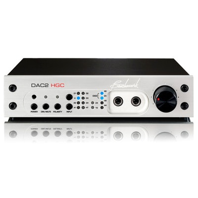 Benchmark DAC2 HGC - Digital to Analog Audio Converter   - Benchmark Media Syste