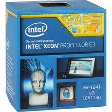 Intel Xeon E3-1241 v3 Haswell 3.5GHz 8MB  L3 Cache LGA 1150 80W Server Processor