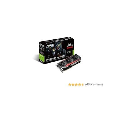 Amazon.com: ASUS GeForce 6GB 384-Bit GDDR5 Graphics Cards STRIX-GTX980TI-DC3-6GD