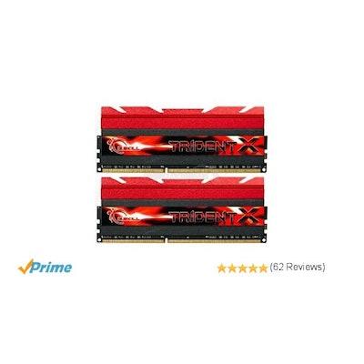 G.Skill F3-2400C10D-8GTX 8GB (2 x 4GB) DDR3 PC3-19200 2400MHz TridentX Series CL