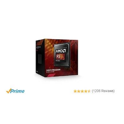 Amazon.com: AMD FD6300WMHKBOX FX-6300 6-Core Processor Black Edition: Computers