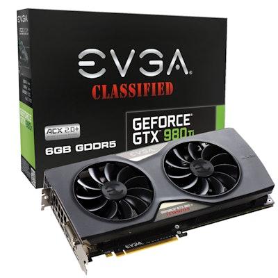 EVGA GeForce GTX 980 Ti CLASSIFIED GAMING ACX 2.0+