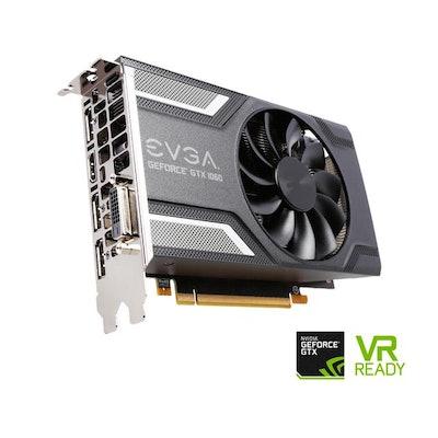 EVGA GeForce GTX 1060 SC GAMING, ACX an), 06G-P4-6163-KR, 6GB GDDR52.0 (Single F