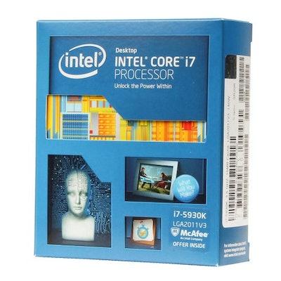 Intel Core i7-5930K Haswell-E 6-Core 3.5 GHz LGA 2011-v3 140W CPU