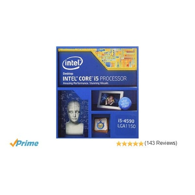 Amazon.com: Intel Core i5-4590 BX80646I54590 Processor (6M Cache, 3.3 GHz): Comp