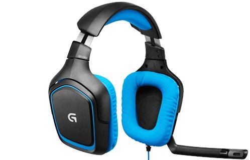 G430 7.1 Surround Sound Gaming Headset - Logitech