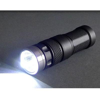 Jetbeam RRT01 CREE XM-L LED Flashlight Drop - Massdrop