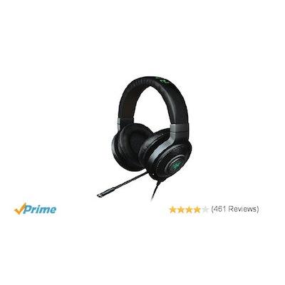 Amazon.com: Razer Kraken 7.1 Chroma Sound USB Gaming Headset - Surround Sound wi