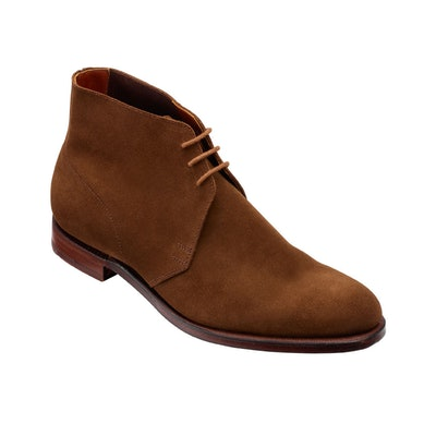 C&J Chukka in Snuff Suede