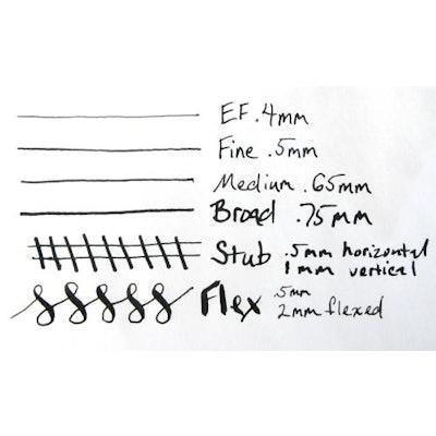 FPR #5.5 Two-tone Extra Fine Nib – Fountain Pen Revolution