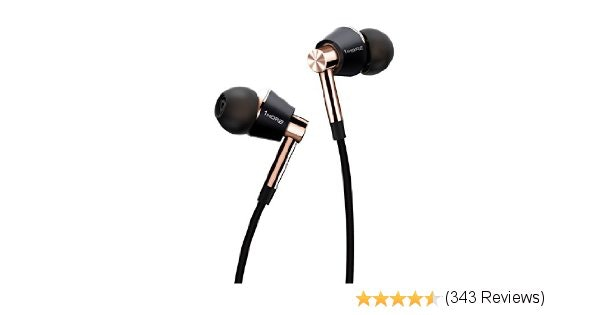1MORE Triple Driver In-Ear Headphones with In-line Microphone and Re