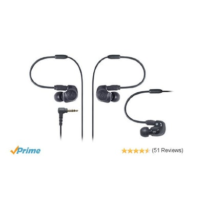 Amazon.com: Audio-Technica ATH-IM50 Dual symphonic-driver In-ear Monitor headpho
