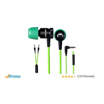 GranVela® G10 Hammering Gaming Earphones In-ear