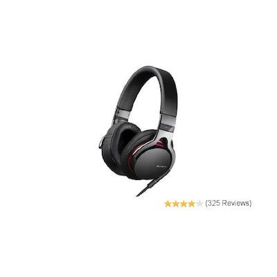 Amazon.com: Sony MDR1R Premium Over-the-Head Style Headphones (Black): Home Audi