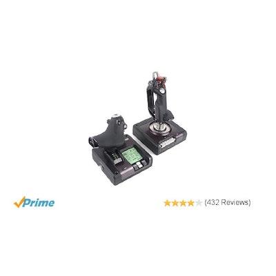 Amazon.com: Saitek X52 Pro Flight System Controller: Video Games