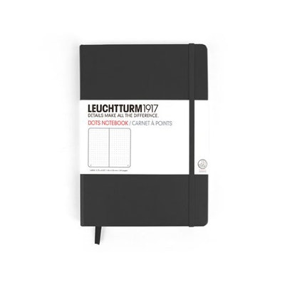 Notebook Medium (A5), Hardcover, 249 numbered pages  – LEUCHTTURM1917