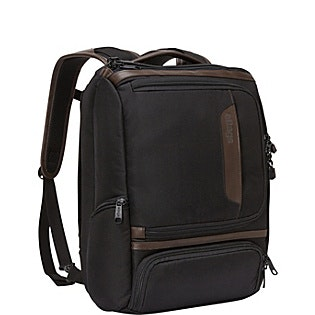 eBags Professional Slim Junior Laptop Backpack - LTD Edition Leather Trim - eBag