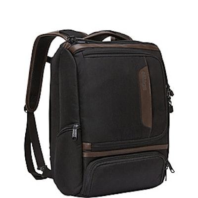 eBags Professional Slim Junior Laptop Backpack - LTD Edition Leather Trim - eBag