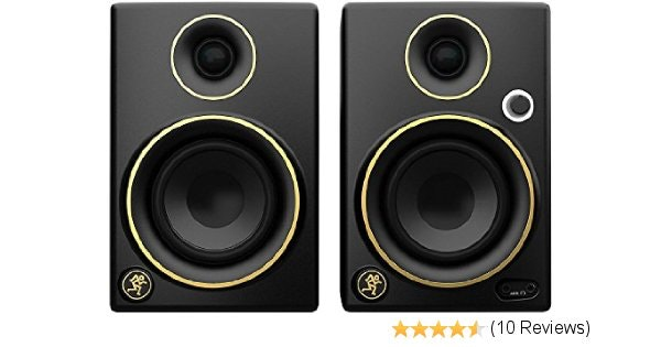 Amazon.com: Mackie CR3 Limited Edition Gold Trim 3 in. Multimedia Monitors (Pair