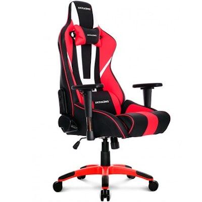 Gaming Chair AKRacing XTRA BIGGER CP-6 Black White Red 10260-9
