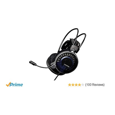 Amazon.com: Audio-Technica ATH-ADG1X Open Air High-Fidelity Gaming Headset: Home