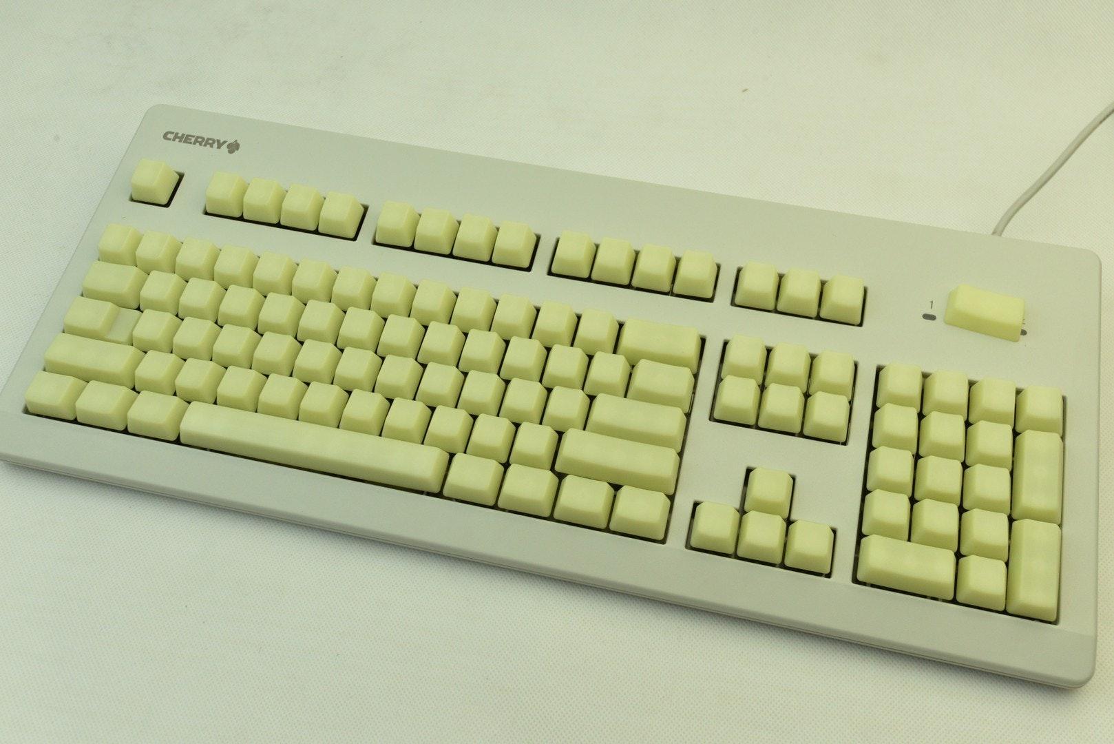 Yellow Jelly POM Keycaps