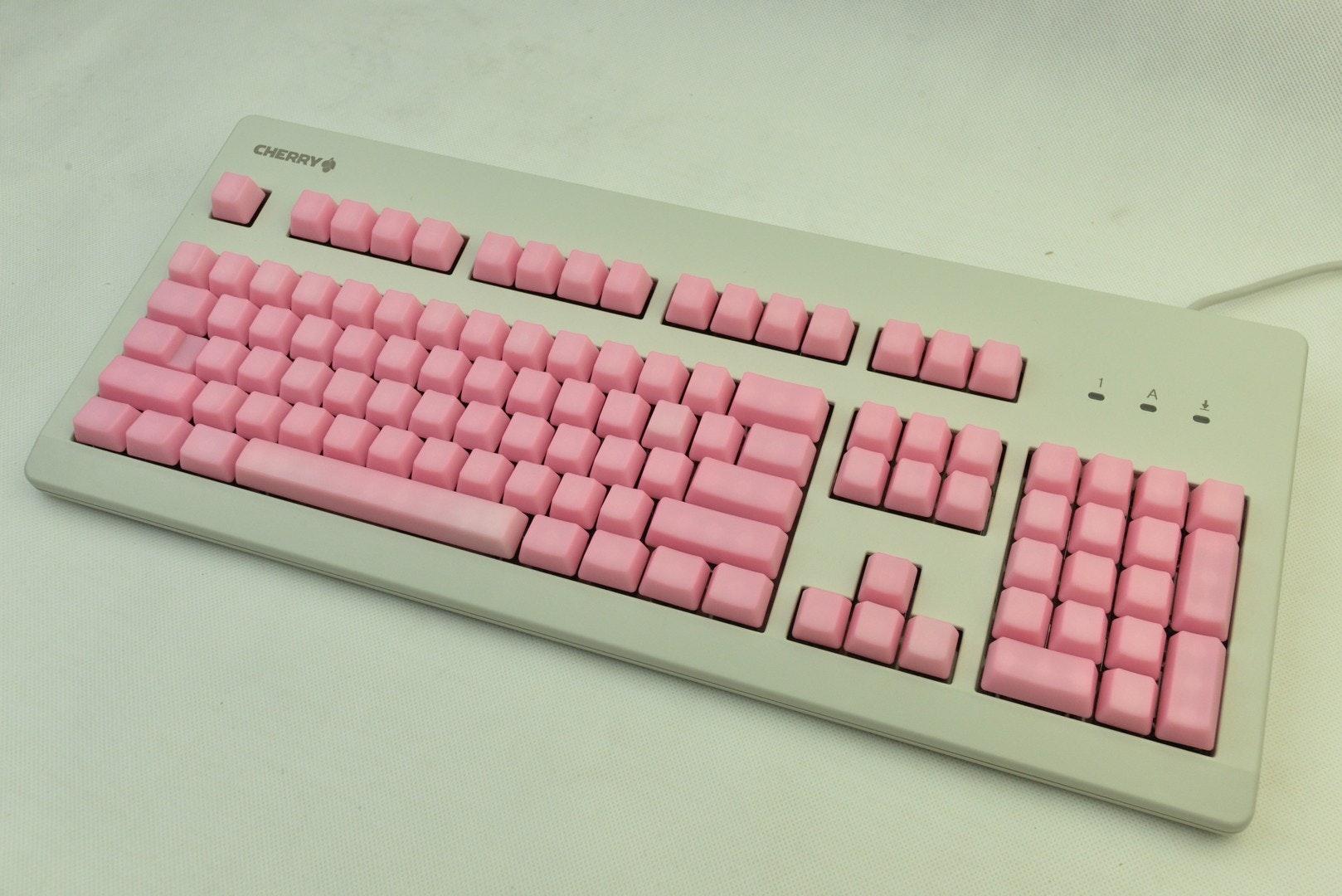 Pink Jelly POM Keycaps