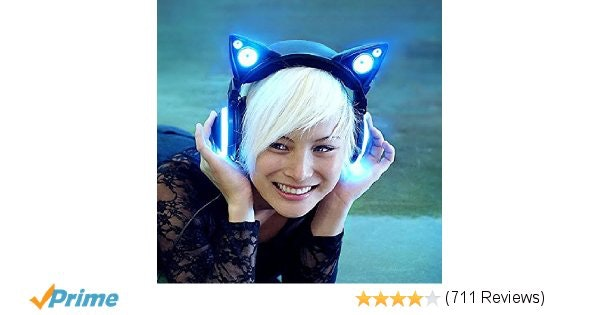 Amazon.com: Wired Cat Ear Headphones: Home Audio & Theater