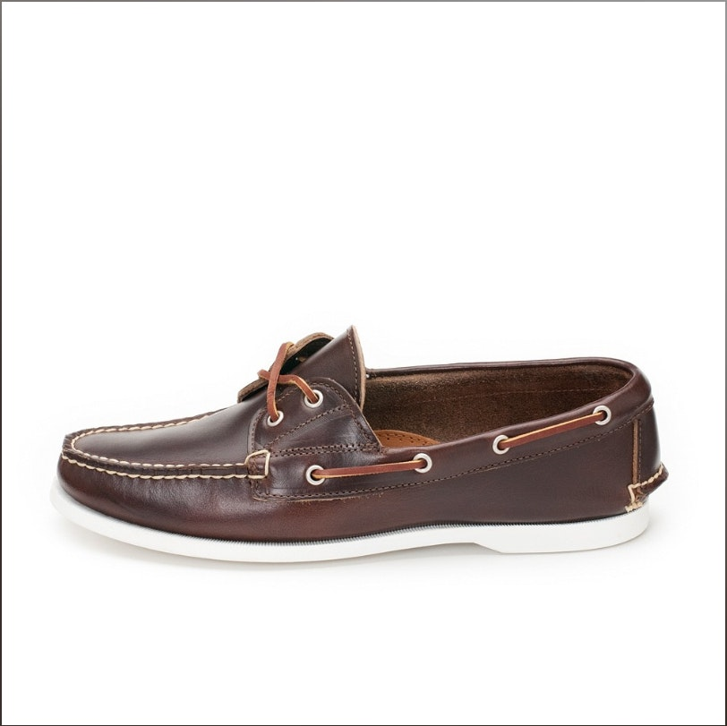 handcrafted boat shoes