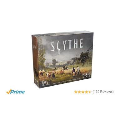 Amazon.com: Scythe Board Game: Toys & Games