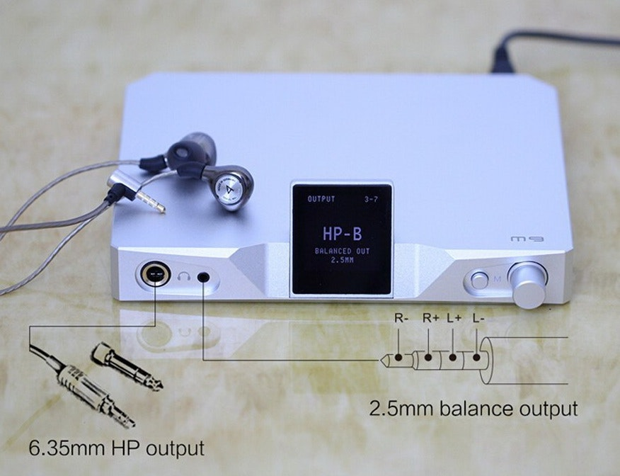 SMSL M9 DAC/Balanced Headphone Amp