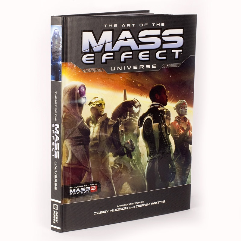 Art of the Mass Effect Universe Hardcover - Books - Media