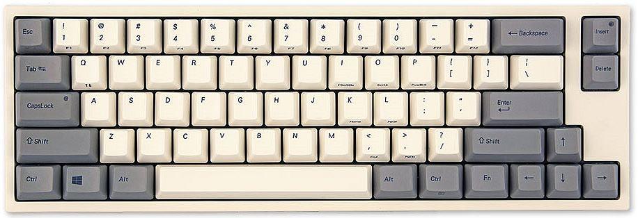 Leopold FC660 White Mechanical Keyboard (Topre 45g)