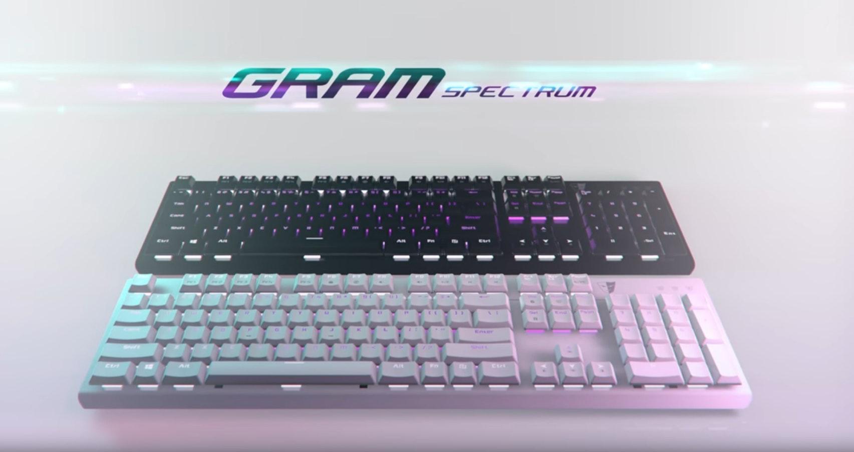 Gram Spectrum | TESORO GAMING