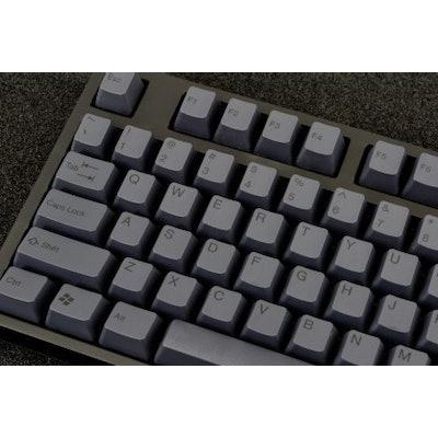 WASD Keyboards Doubleshot PBT 104-Key Cherry MX Keycap Set - Carbon Black - Full