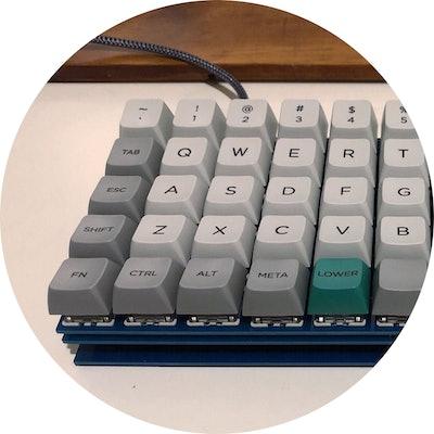Cannon Keys Ortho60 Keyboard Kit