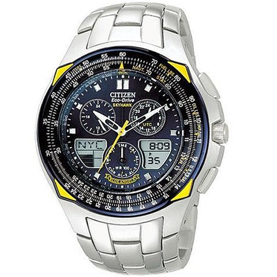 JR3080-51L Citizen Eco-Drive Blue Angels Skyhawk Mens Watch