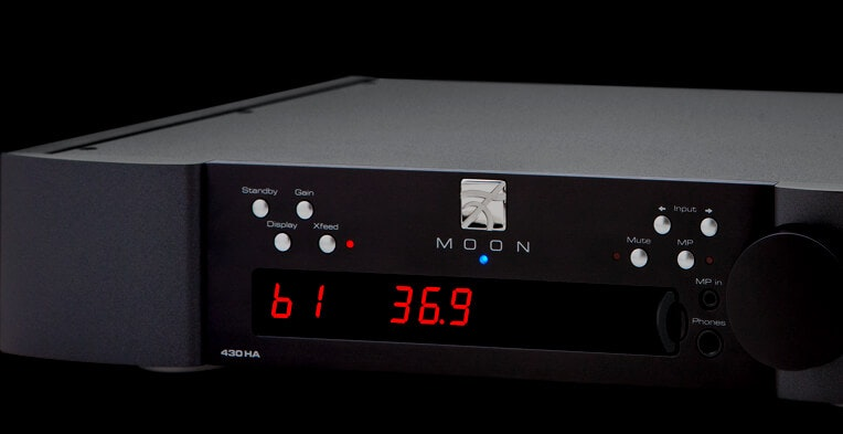 430HA Headphone Amplifier | MOON - Simaudio