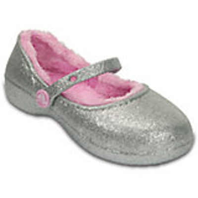 Sparkle Lined Clog    Crocs