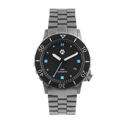 Hamtun H1 Blue titanium dive watch