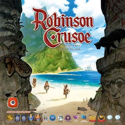 Robinson Crusoe: Adventures on the Cursed Island (English fourth edition) | Boar
