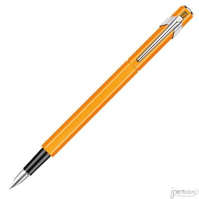 Caran d'Ache 849 Swiss Made Fountain Pen, Fluorescent Orange